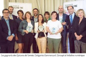 epicerie fine,Jury Epicures 2017,prix des épissures 2017, lauréats, commerçant, initiative numérique