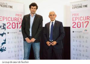 epicerie fine,Jury Epicures 2017,prix des épissures 2017, lauréats, fauchon