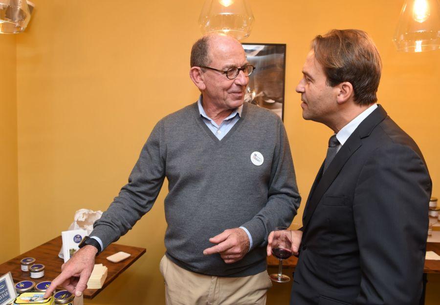 Stéphane Roussier et Raphaël Trannoy,Consul de France