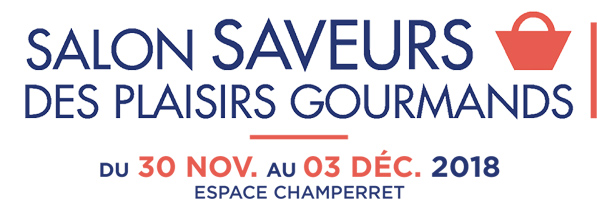 Logo Salon SAVEURS Des Plaisirs Gourmands 2018 Final