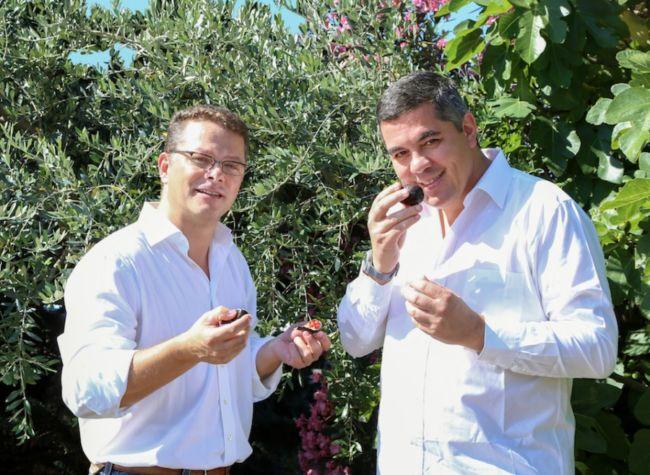 Xavier et Benoit Gandon, directeurs généraux