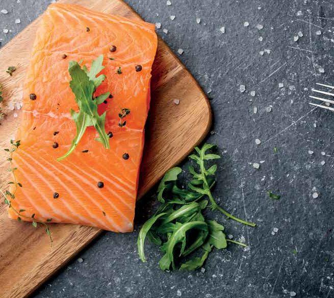 le saumon le monde de l'epicerie fine