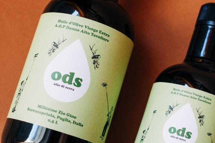 olio di serra huile dolive