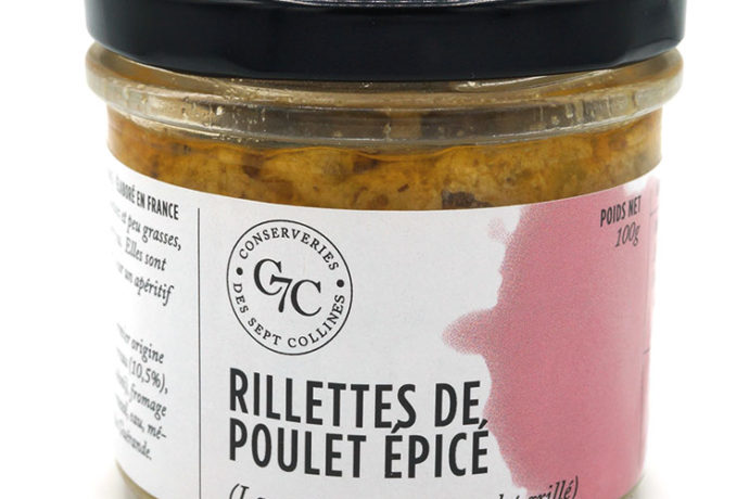 Rillettes au poulet Conserveries des Sept Collines