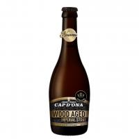 Bière Brune - Xbrune Wood Aged Imperial Stout / BRASSERIE CAP D'ONA