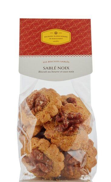 sablés noix maison alsacienne de biscuiterie